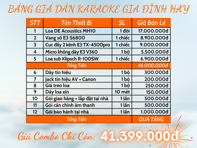 bang-gia-dan-karaoke-gia-dinh-hay