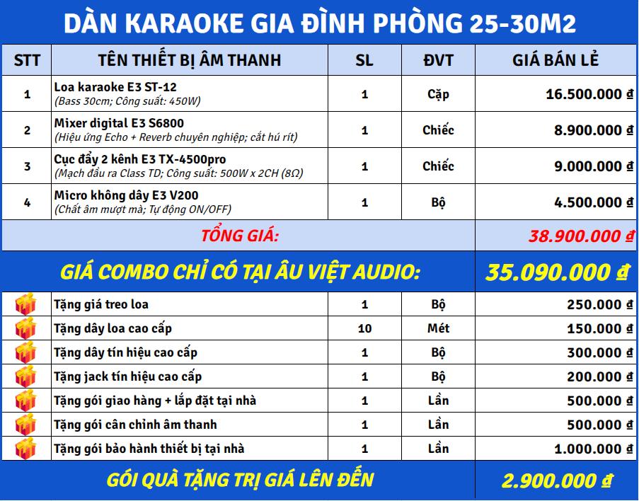 bang-gia-dan-karaoke-gia-dinh